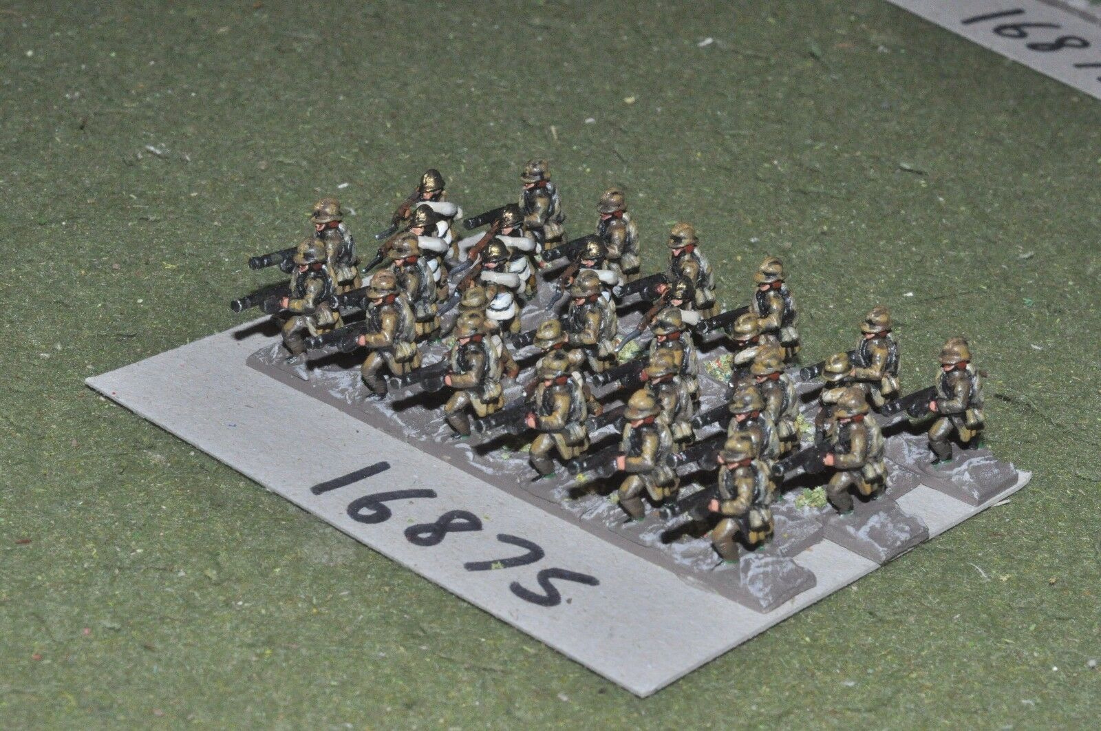 15mm WW1   french - infantry 30 figures - inf (16875)