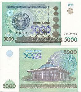 Uzbekistan-Boy-5000-sum-2013-UNC-Pick-83