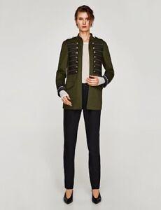 giacca militare donna zara
