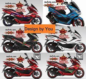 Honda Pcx 150 Pcx 125 Pcx150 Sticker Full Body Fits Graphic Fairing