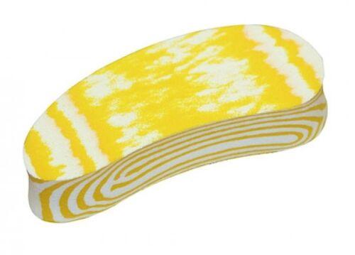 Kerbl 16484 SHOOF Walkease Klauenbehandlung Ersatzklötze medium 10er Pack gelb