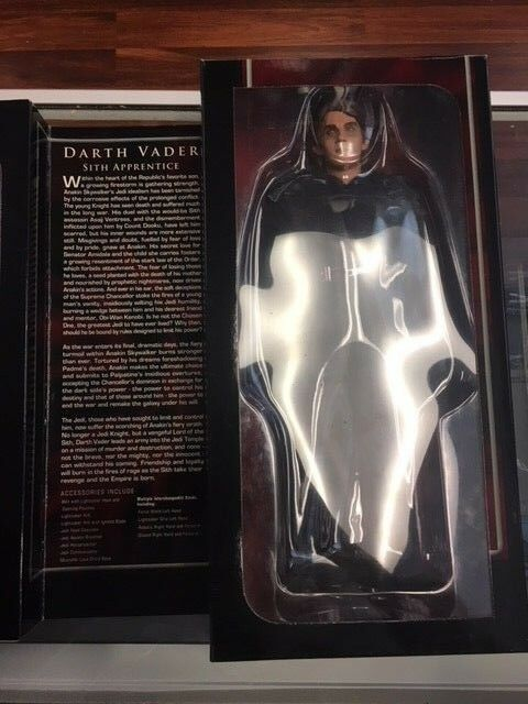 SDCC 1 6 Scale Estrella Guerras Anakin Darth Vader Vader Vader cifra Sidemostrare Used JC b51c19