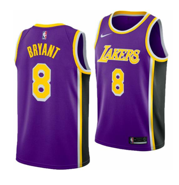 Nike Kobe Bryant Los Angeles Lakers Swingman Jersey Av3701 504 ...