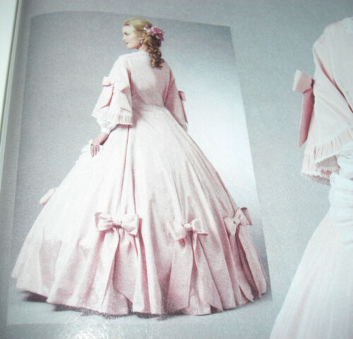 Butterick 5543 5696 5831 5832 Mary Todd Lincoln Civil War Dress Sewing Patterns