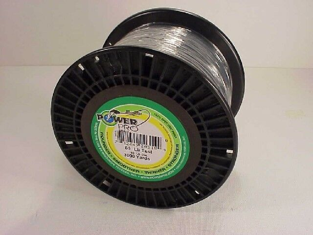 Power Pro Braided Spectra Line 65 lb x 3000 yd Moss Green   (We ship worldwide