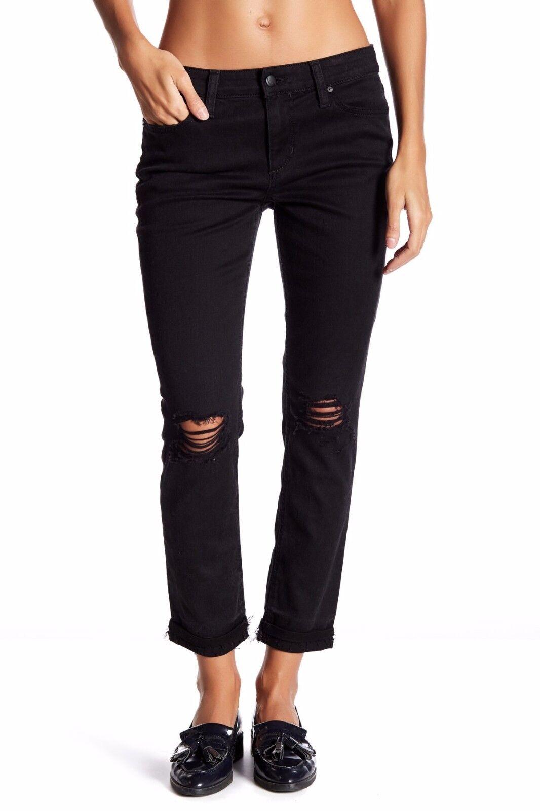 Joe's Jeans The Markie Skinny Ankle Crop Pants Vyola 28 29 Nwt  179