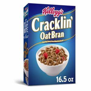 10-Boxes-Kellogg-039-s-Cracklin-Whole-Grain-Breakfast-Cereal-Oat-Bran-Snack-16-Oz