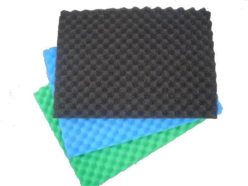 Fischteich Profiliert Teichfilter Medien Schaum Schwamm Set 45.7cm X 63.5cm