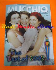 Rivista MUCCHIO SELVAGGIO 523/2003 The Best Of 2002 Freur Luca Fagella  No cd