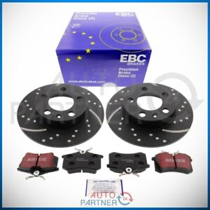 EBC-for-VW-Golf-4-Audi-A3-Sportbremse-Perforated-230mm-Brake-Disc-Pads-Rear