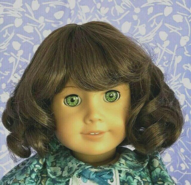 Monique JUDY #2  Lt. Brown Full Adj. Cap Doll Wig Size 10-11 American Girl Sz