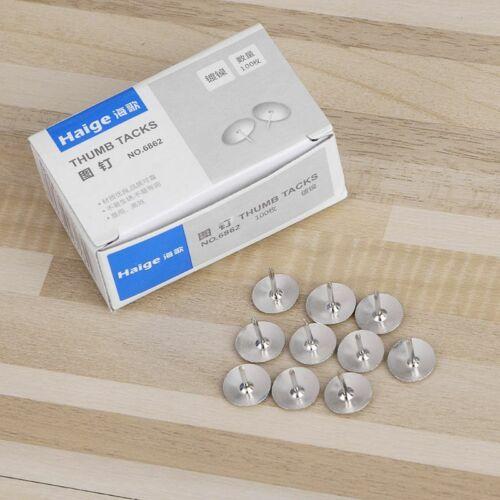 80Pcs//Box Metal Thumb Tack Push Pin Scene Poster Push Pin Pins Office Home Wall