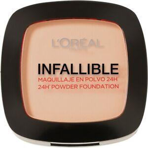 Loreal Paris Infallible 24hr Powder Foundation #123 Warm Vanilla 9g