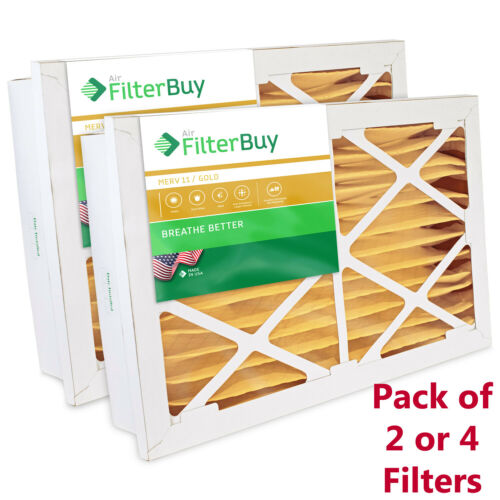 AC Furnace Air Filters Grille Honeywell Compatible MERV 11 FilterBuy 20x25x5