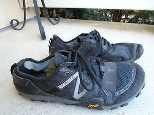 New-Balance-Minimus-Vibram-Black-Running-Shoes-Mens-size-9-5-2E