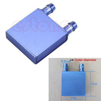 Water Cooling Heatsink Block Liquid Cooler Aluminium Waterblock For CPU GPU SR