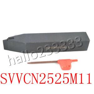 25mmSHK×150mm SVVCN2525M11 External Turning Tool Holder for VCMT11  INSERT CNC