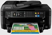 Epson Wf-2760 All-in-one Wireless Color Printer With Scanner, Copier Fax