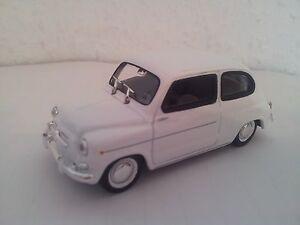1 Jeux Fiat 600 Miniature D Blanc En Et 1963 Jouets Solido Voiture 3c4ALR5qj