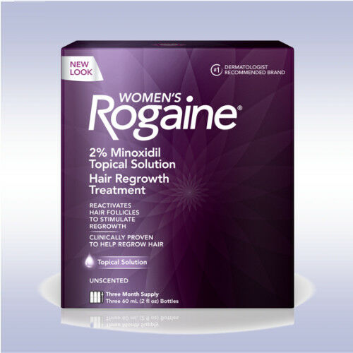 ROGAINE WOMENS TOPICAL SOLUTION (3 MONTH) minoxidil regaine regrow hair female