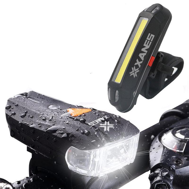XANES 600LM German Standard Bike Front  Light 500LM USB Rechargeable LED bike  incentive promotionals