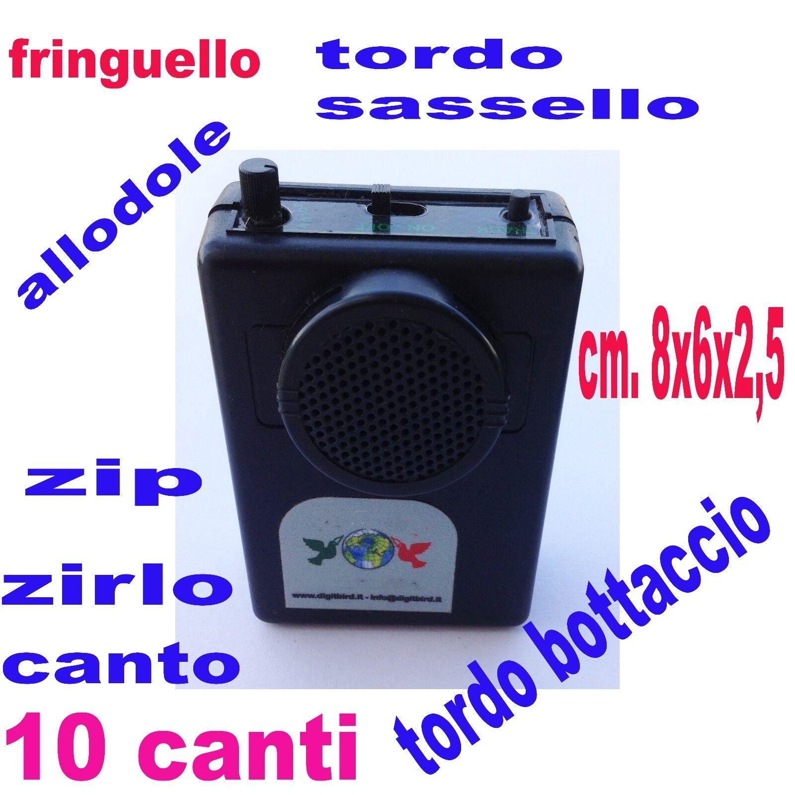 Riproduttore digitale digitale Riproduttore caccia registratore canti uccelli fischi fischio allodola 6515d0
