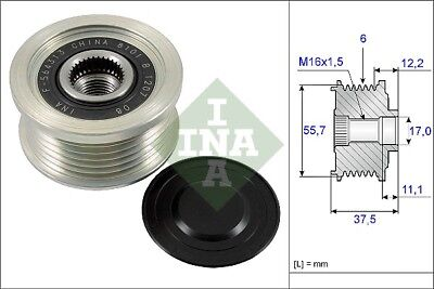 535024610 INA OVER RUNNING ALTERNATOR PULLEY OE QUALITY