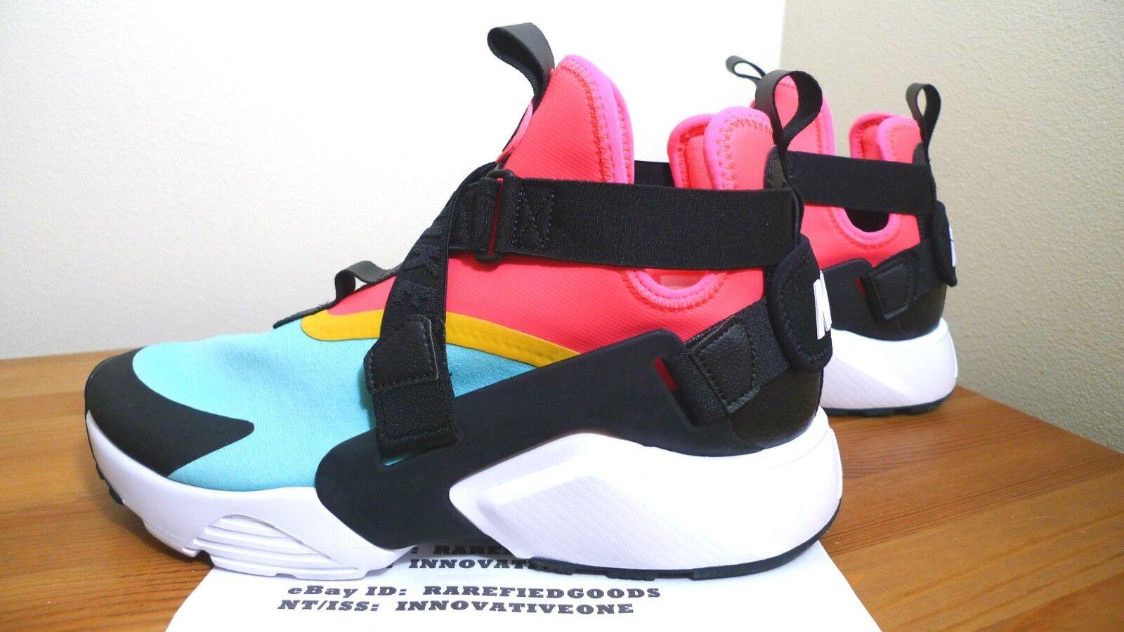 outlet store ae564 db4e9 6 Women's Nike Air Huarache City Multicolor Rainbow Casual Shoes Ah6787 400