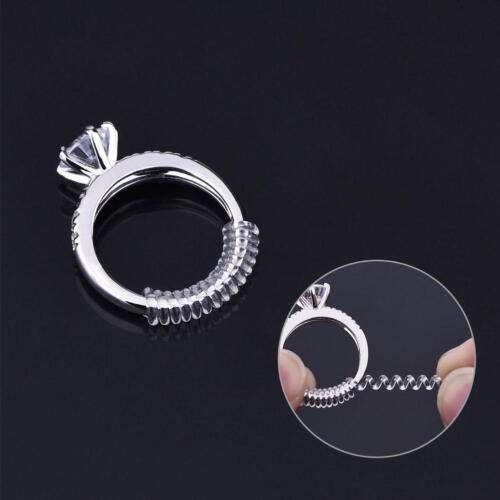 Ring Size Adjuster Einfügen Guard TightenerReducerGrößenanpassun NEW.~^