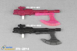 Matrix Workshop M-02 Weapon Kit for Siege Deluxe Sidewipe Toys gun Upgrade