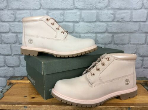 Double Eu Pâle En 5 Bottes £ Uk 8 Chukka Cuir 41 Timberland Nellie 125 Rose Ladies Sw1PRqA