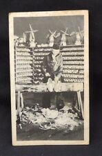 Vintage Post Card Holland Michigan Wooden Shoes Factory Price List Novelty Craft