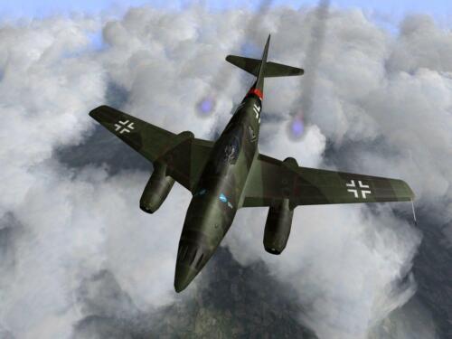 WW2 German Luftwaffe Messerschmitt Me 262 Picture