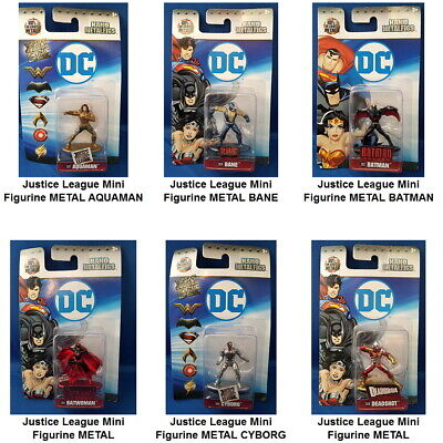 DC Comics Mini Figurine Toy or Cake Topper NANO METALFIGS You Choose Hero
