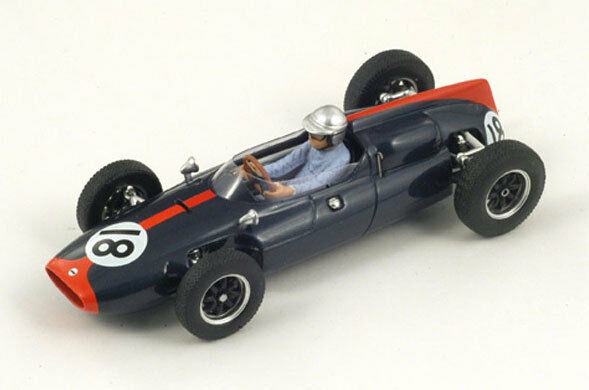 SPARK Cooper T53 No.18 GP's Alemania 1961 John Surtees S3515 1 43