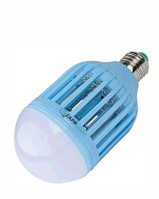Kids Room Blue Zapplight Light Zapper Dual Led Bulb Bug 9w