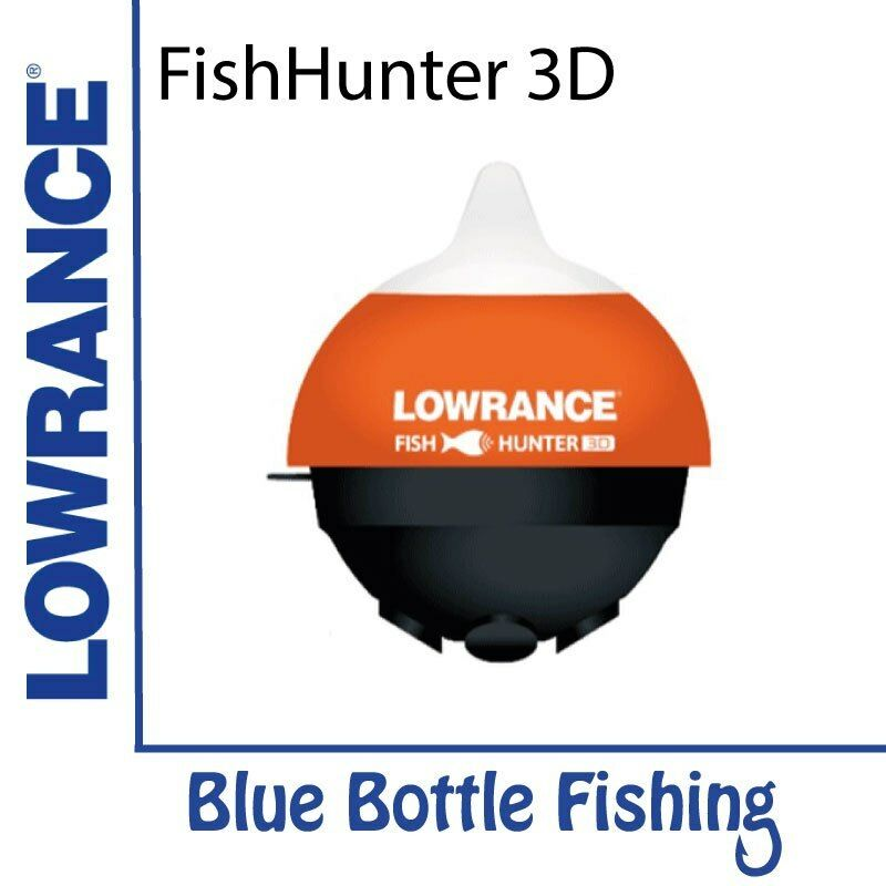 Nuevo Lowrance Fishhunter 3D de Botella Azul Marino