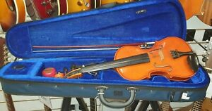 Andreas-Zeller-by-Stentor-3-4-Size-Violin-Outfit-case-bow-chin-rest-amp-rosin