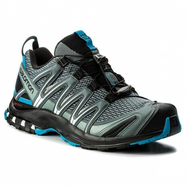 Zapatos Trail Running Trekking Salomon Xa pro 3D Stormy Weather Negro