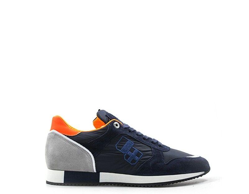 Zapatos d 'Acquasparta hombre azul tela, serraje cosimou 700blp