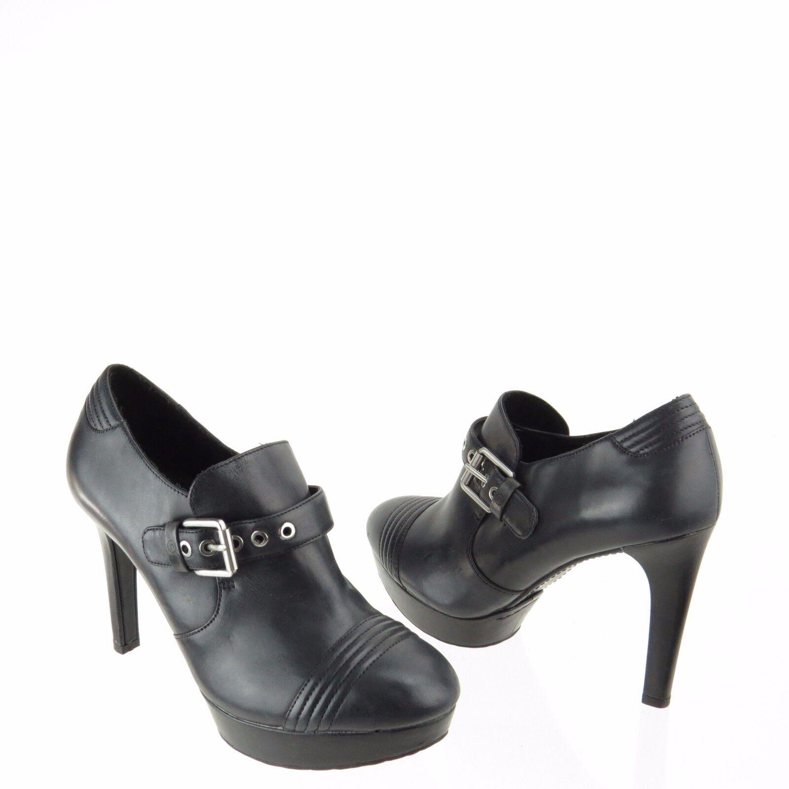 Women's Women's Women's Rockport Janae Monk shoes Black Leather Pumps Size 7.5 M NEW 35a0c7