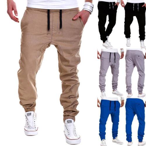 Mens Sweatpants Harem Trouser Sports Long Pants Joggers Sportwear Dance Baggy