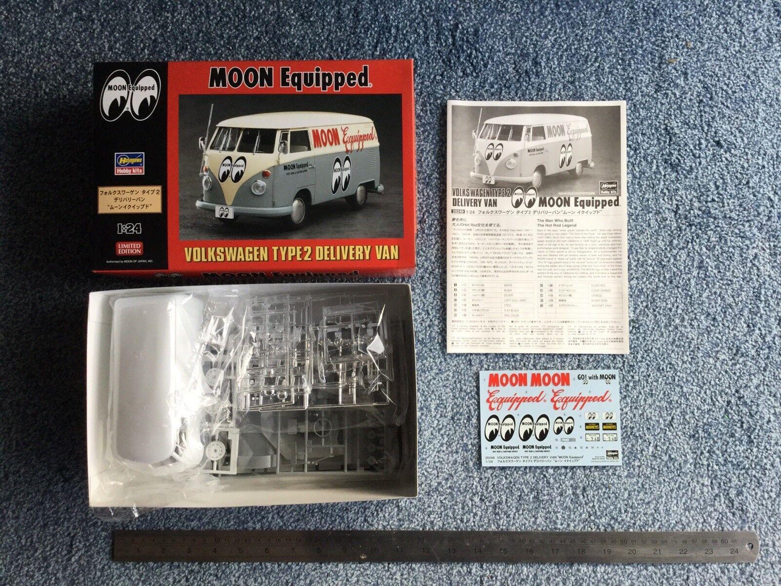 Hasegawa 1 24 Volkswagen Type 2 Delivery Van 'Moon Equiped' kit