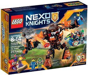 Lego-nexo-Knights-70325-Infernox-y-la-reina-nuevo-embalaje-original-New-misb-NRFB
