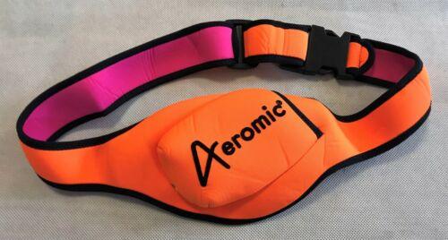 Aeromic Beutelgurt orange Fitness Gürtel Mikrofon Halterung
