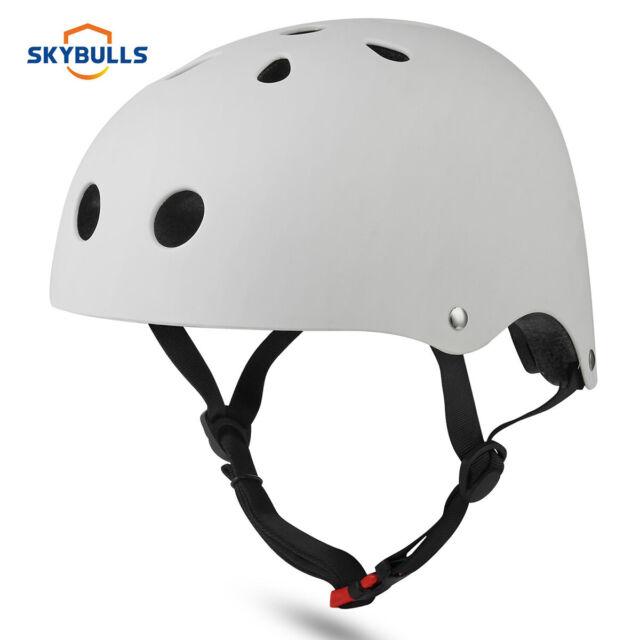 Adjust Bicycle Cycle Bike Scooter Skateboard Skate Stunt Bomber Helmet