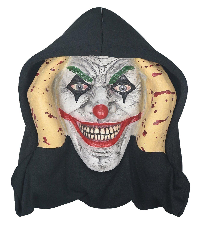 Scary Peeper Creepy Clown Halloween Prop - Spooky Holiday Decoration –...