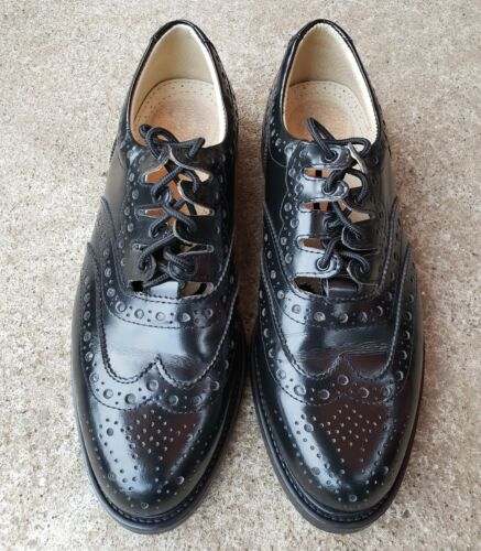 Endrick Ghillie Brogues US Size 12 Black Leather R