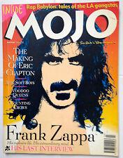 March 1994 #4 MOJO Magazine - Frank Zappa, Eric Clapton, Voodoo Queens