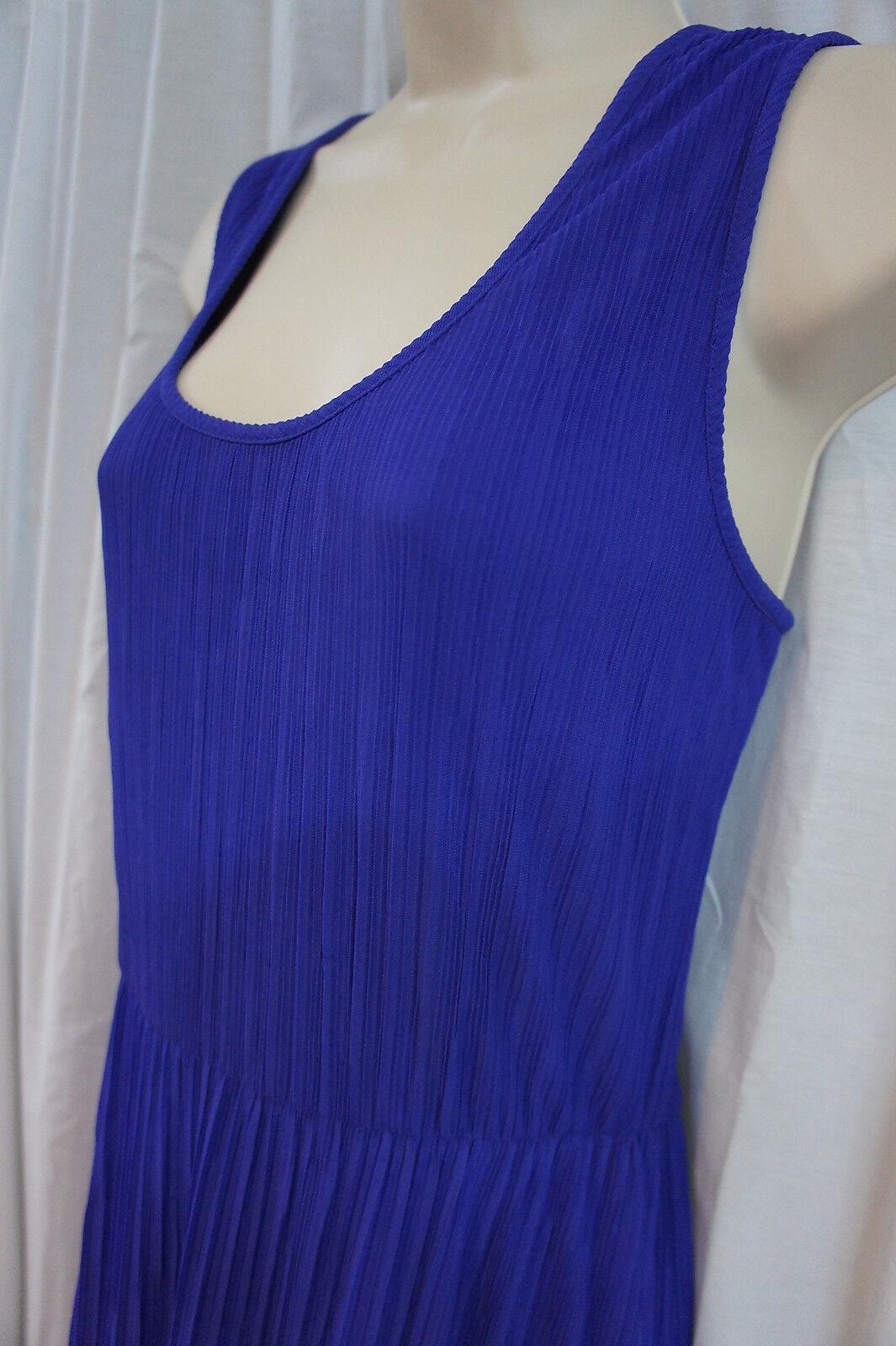 women Ricco New York Dress Sz Sz Sz 6 African purple Sleeveless Business Dress 1da66b